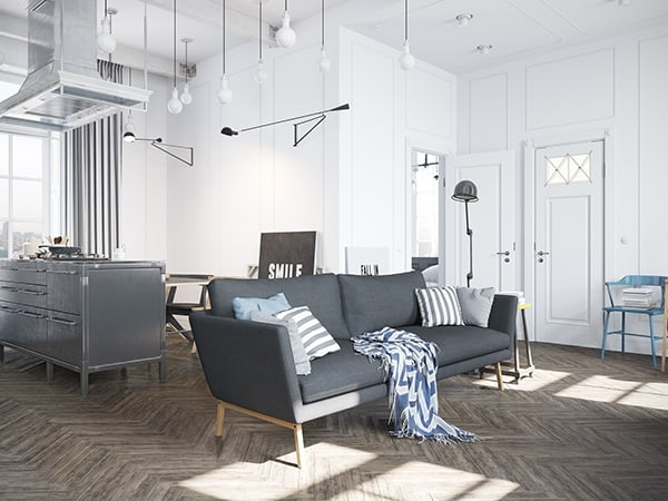 Scandinavian Style Apartment-Denis Krasikov-04-1 Kindesign