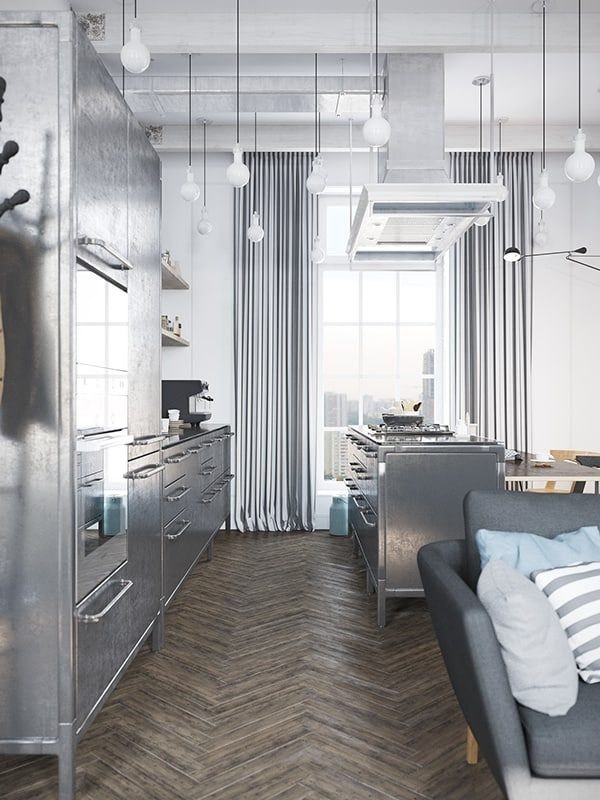 Scandinavian Style Apartment-Denis Krasikov-08-1 Kindesign