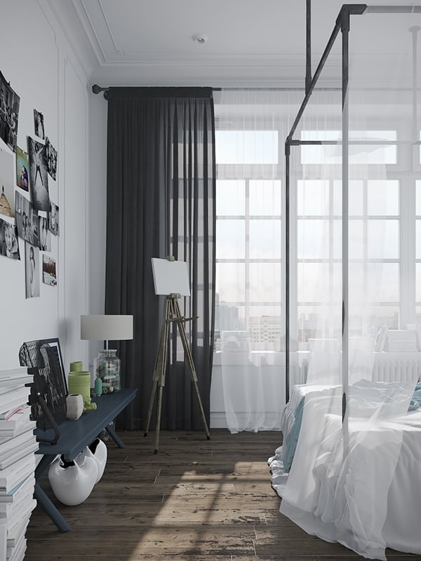 Scandinavian Style Apartment-Denis Krasikov-13-1 Kindesign