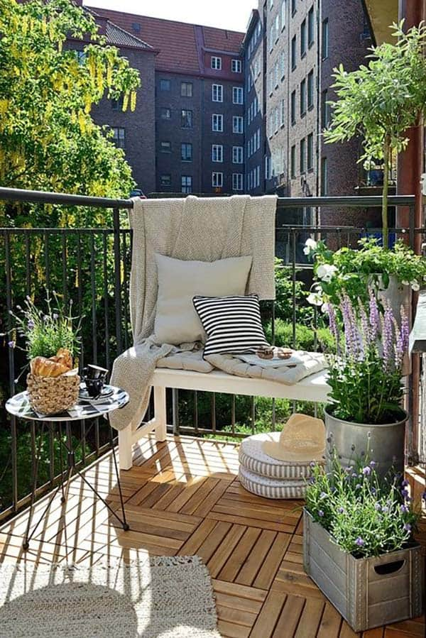 featured posts image for 55 Super cool and breezy small balcony design ideas