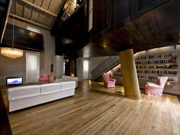Trastevere Loft-MdAA architects-02-1 Kindesign