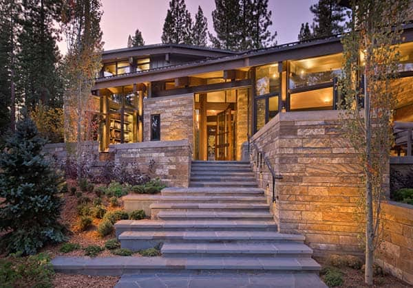 featured posts image for Modern rustic home nestled high in the Sierra Mountains