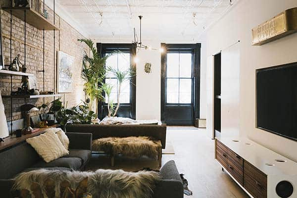 featured posts image for Stylish loft in TriBeCa showcasing an industrial style aesthetic