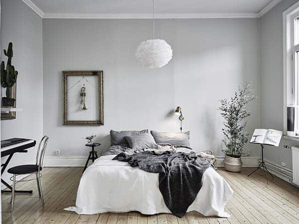 Black and White Bedroom Ideas-02-1 Kindesign