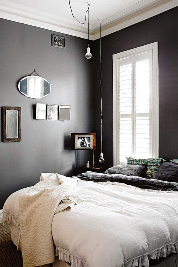 Black and White Bedroom Ideas-06-1 Kindesign