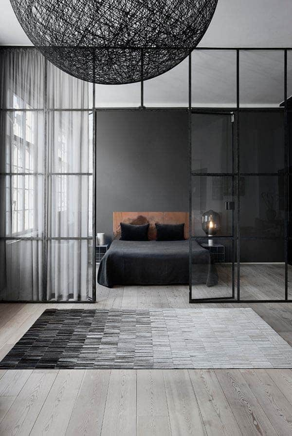 Black and White Bedroom Ideas-18-1 Kindesign