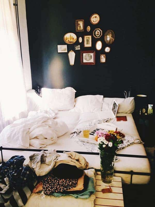 Black and White Bedroom Ideas-19-1 Kindesign