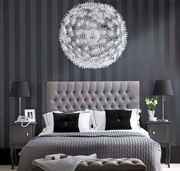 Black and White Bedroom Ideas-22-1 Kindesign