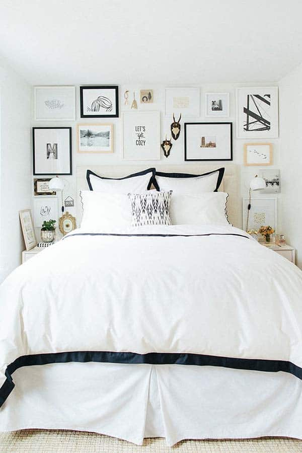 Black and White Bedroom Ideas-28-1 Kindesign