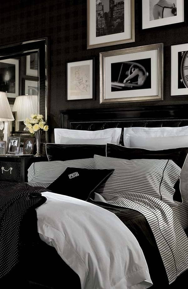 Black and White Bedroom Ideas-29-1 Kindesign