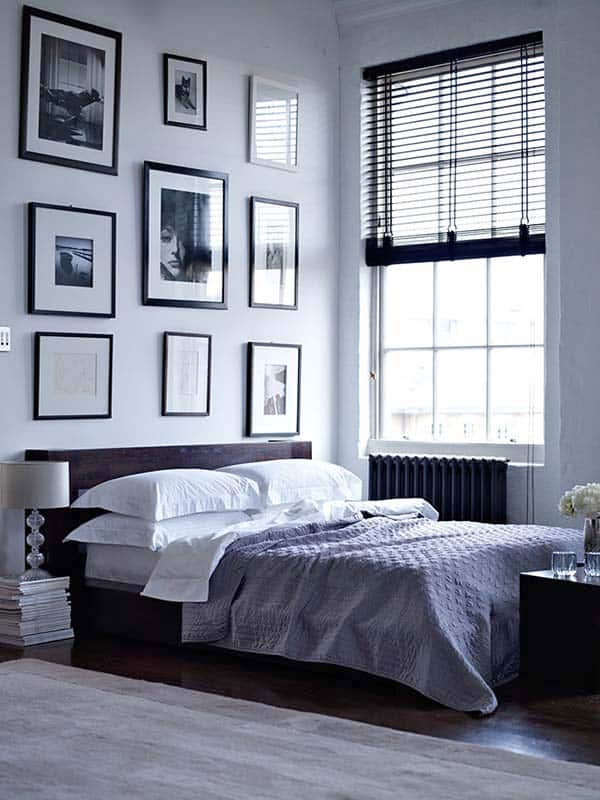 Black and White Bedroom Ideas-31-1 Kindesign