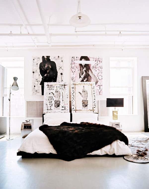Black and White Bedroom Ideas-33-1 Kindesign