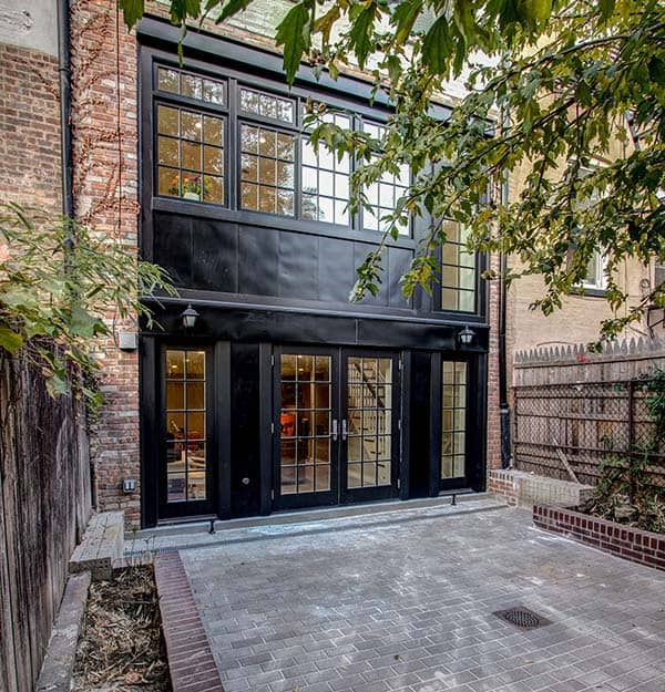 16 Enchanting Modern Entrance Designs That Boost The: Traditional Townhouse Gets A Stunning Makeover In Brooklyn