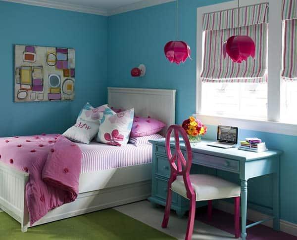Colorful Family Home-Tobi Fairley-22-1 Kindesign