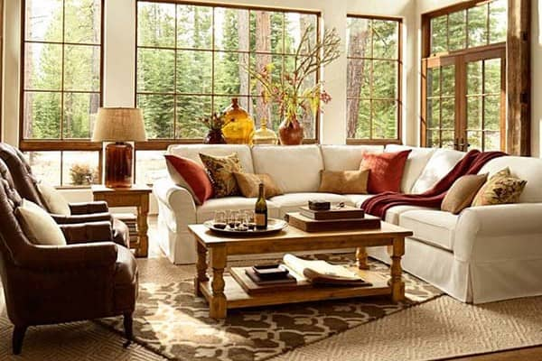 featured posts image for 30 Beautiful fall-inspired living room designs