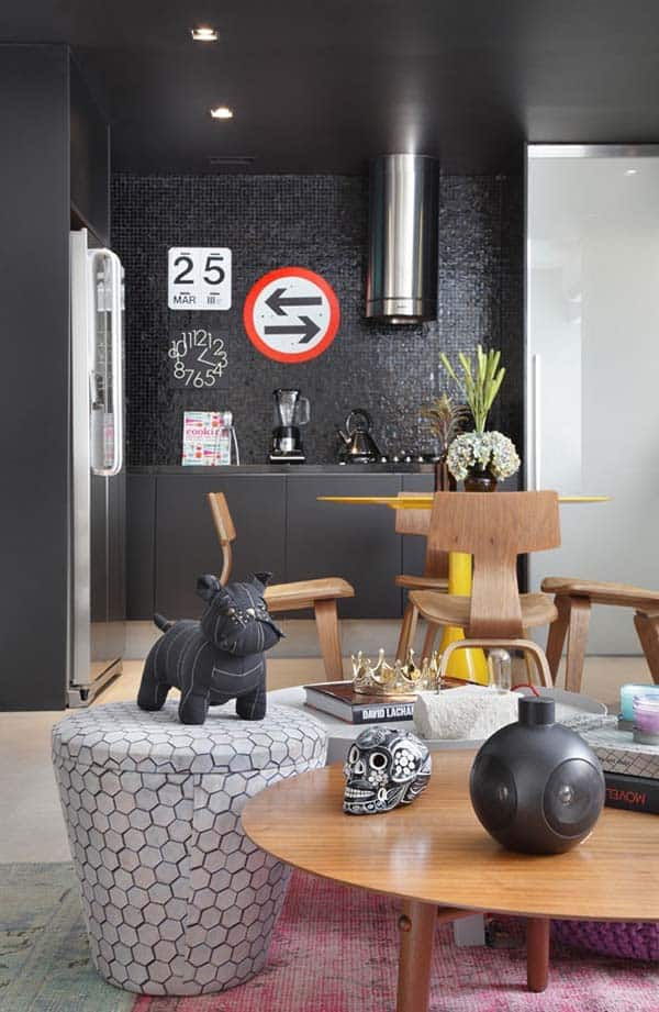 Masculine Style Apartment-Studio roca-03-1 Kindesign