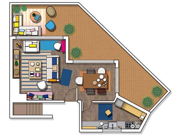 Mediterranean-Style House-Jessica Bataille-16-1 Kindesign