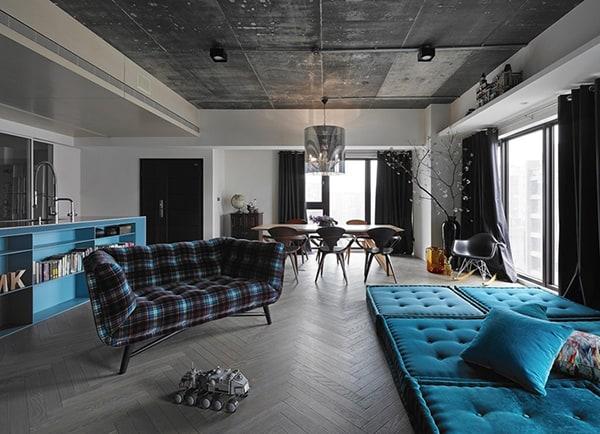 Modern Eclectic Home-Ganna Design-01-1 Kindesign