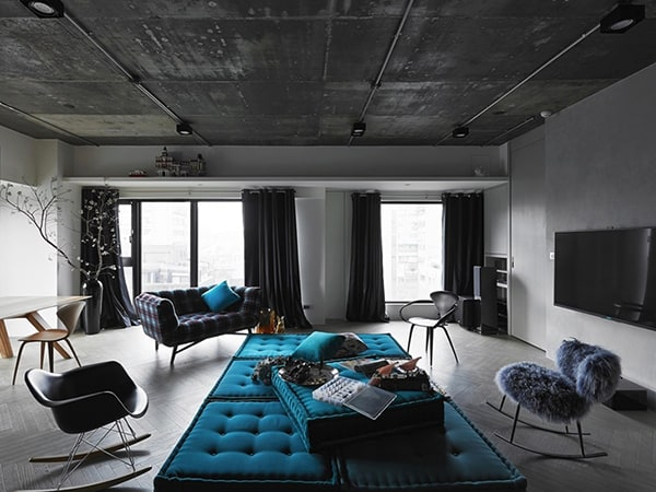 Modern Eclectic Home-Ganna Design-03-1 Kindesign
