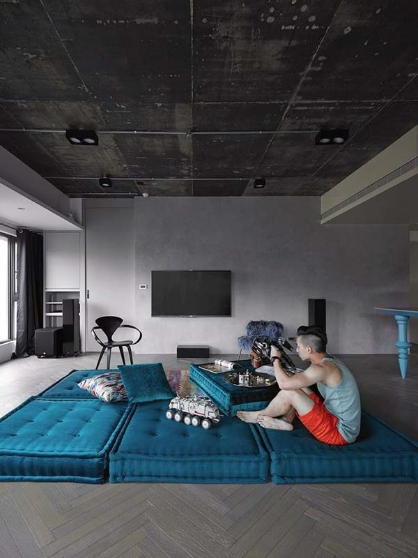 Modern Eclectic Home-Ganna Design-11-1 Kindesign