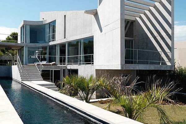 featured posts image for Ultra fabulous modern concrete dwelling in Uruguay