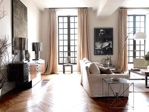 featured posts image for Glamorous Parisian apartment in The Place des Vosges