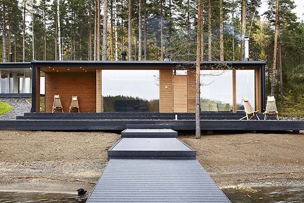 featured posts image for A prefabricated Scandinavian dream home in the forest