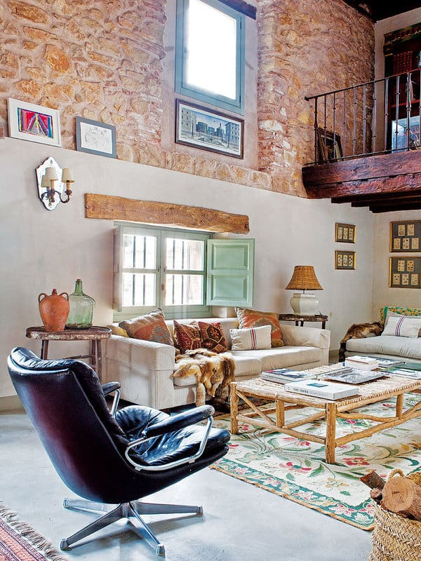 featured posts image for Charming refuge with inviting interiors in the Spanish countryside