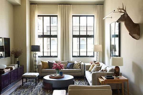 featured posts image for Contemporary loft gets a sophisticated update in TriBeCa, NY
