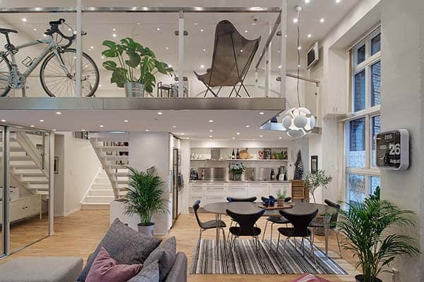 featured posts image for Fresh and bright Scandinavian apartment with exceptional details