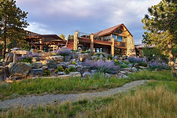 featured posts image for Rough-luxe mountain home in Evergreen, Colorado