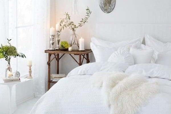 featured posts image for 46 Dreamy white bedroom design inspirations