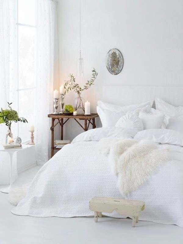 Dreamy White Bedroom Designs-01-1 Kindesign