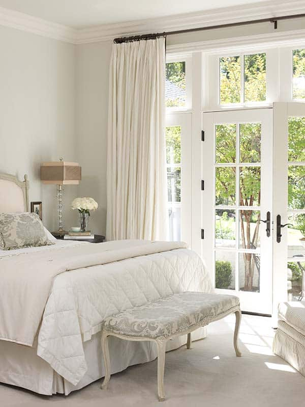 Dreamy White Bedroom Designs-03-1 Kindesign
