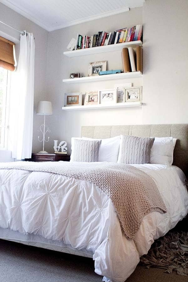 Dreamy White Bedroom Designs-07-1 Kindesign