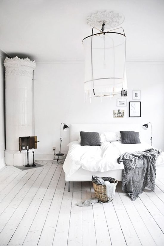 Dreamy White Bedroom Designs-14-1 Kindesign
