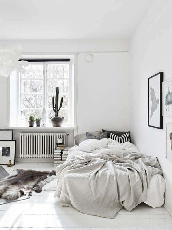 Dreamy White Bedroom Designs-16-1 Kindesign