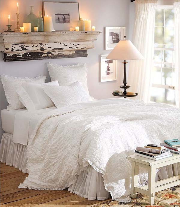 Dreamy White Bedroom Designs-18-1 Kindesign