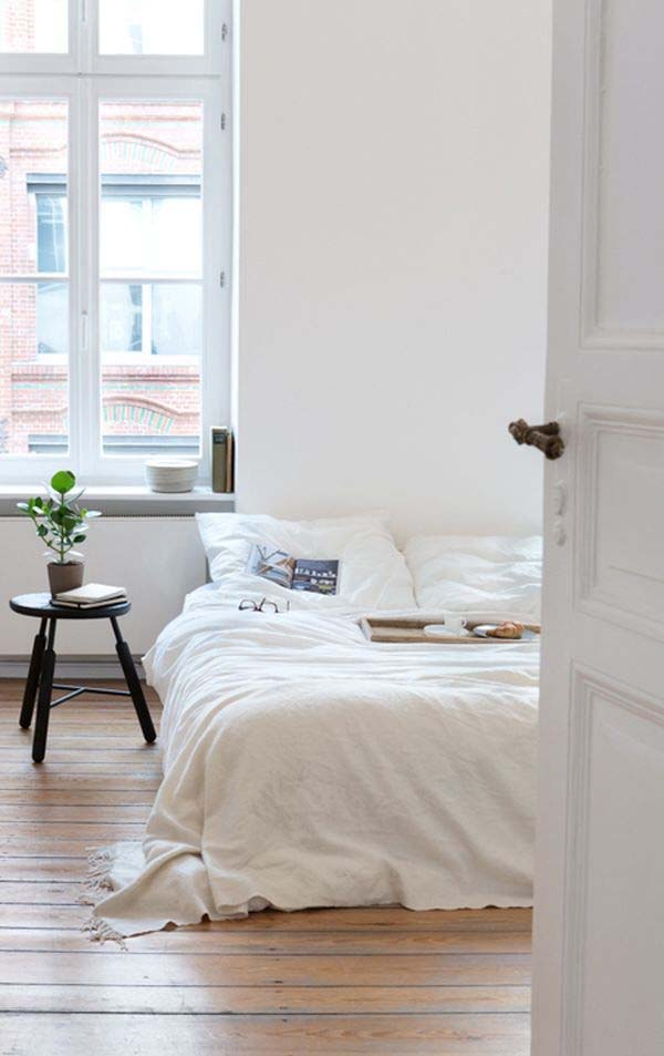 Dreamy White Bedroom Designs-20-1 Kindesign