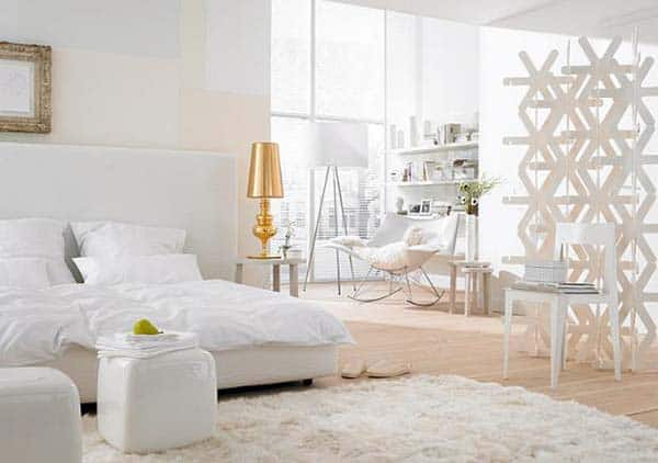 Dreamy White Bedroom Designs-21-1 Kindesign