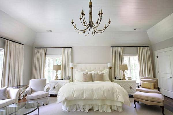 Dreamy White Bedroom Designs-25-1 Kindesign