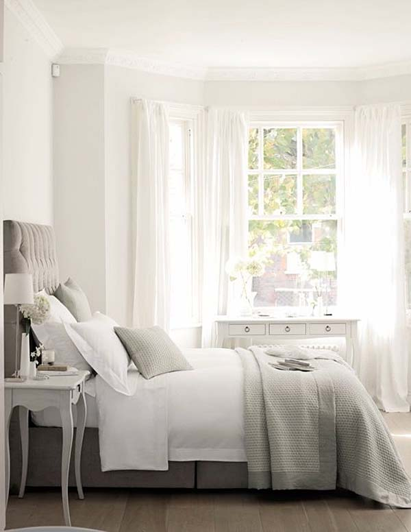 Dreamy White Bedroom Designs-31-1 Kindesign