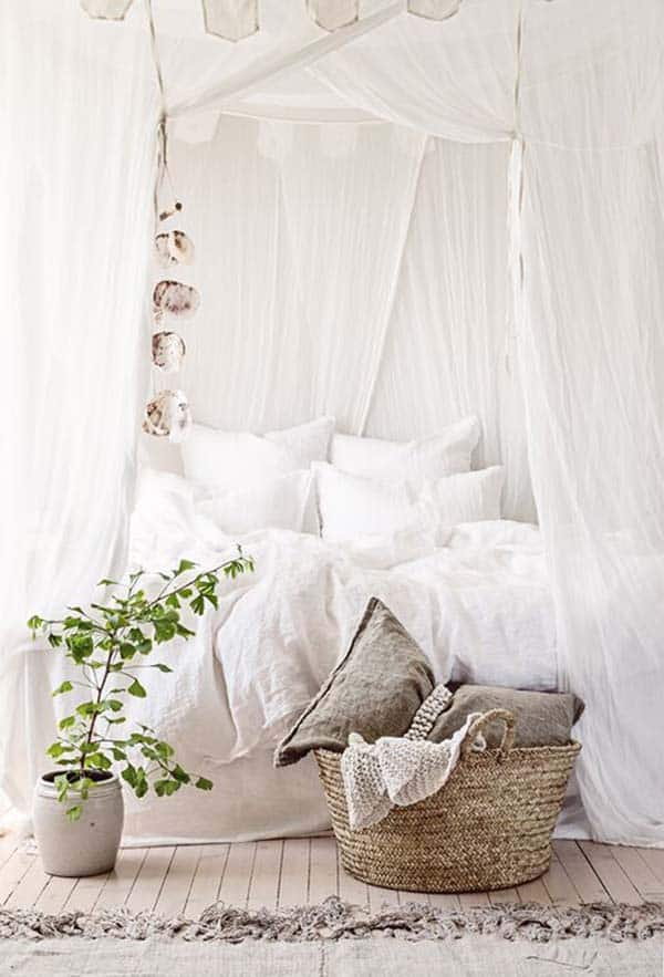 Dreamy White Bedroom Designs-35-1 Kindesign
