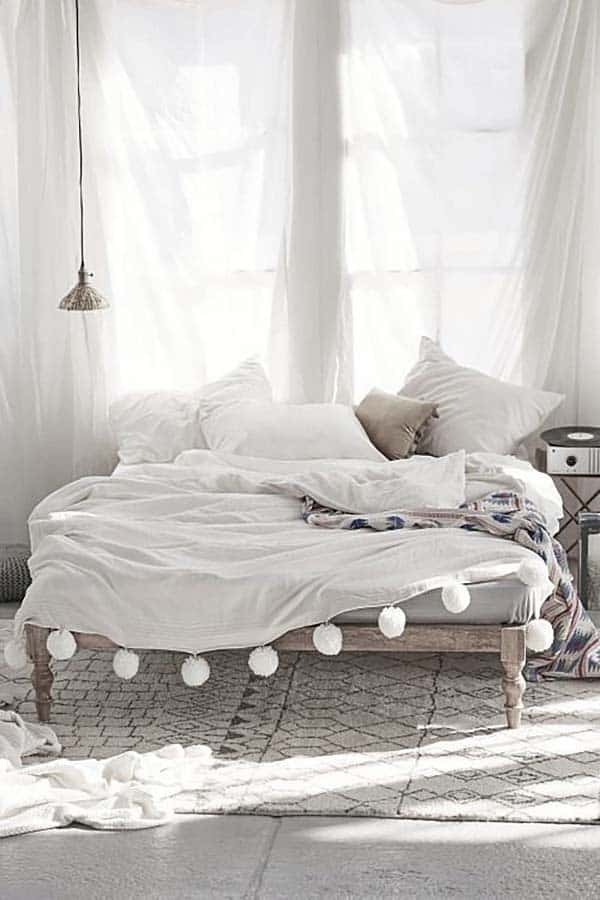 Dreamy White Bedroom Designs-40-1 Kindesign