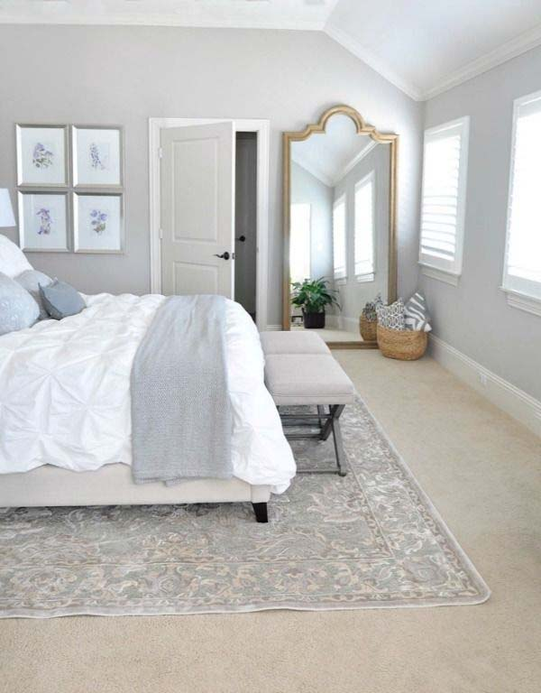Dreamy White Bedroom Designs-45-1 Kindesign