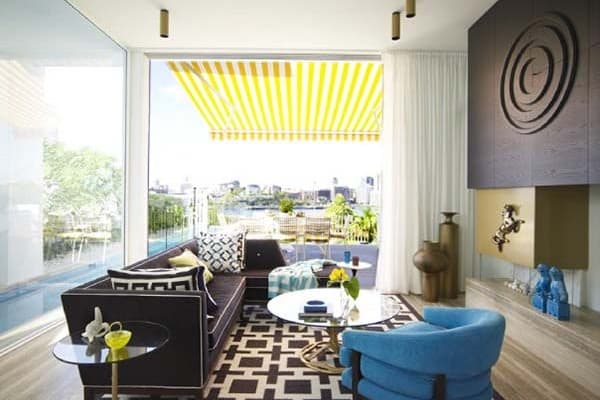 featured posts image for Glamorous Hollywood Regency Style Residence in Sydney
