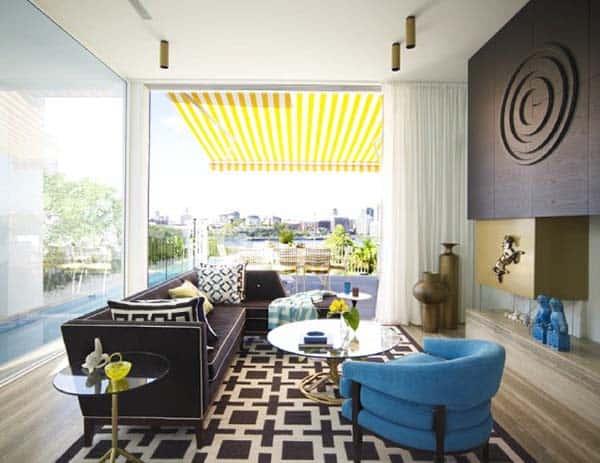 Glamorous Mid-Century Home-Sydney-01-1 Kindesign