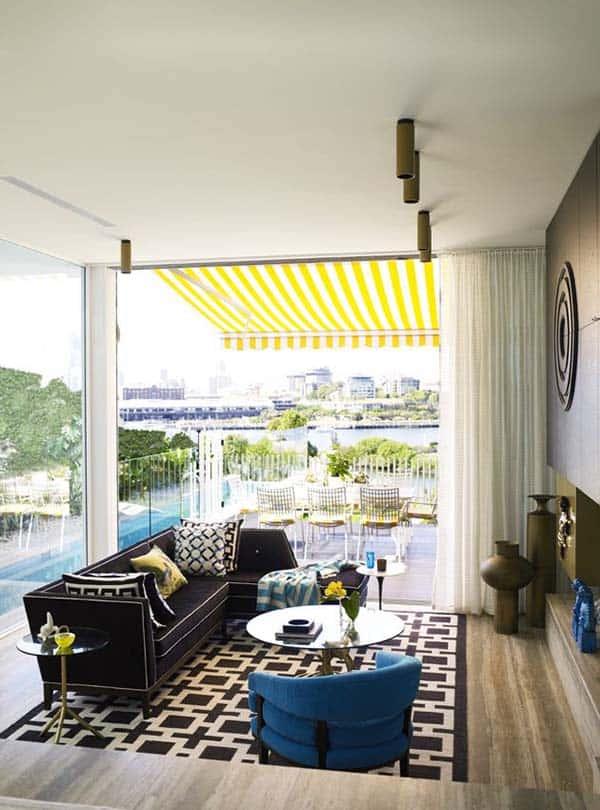 Glamorous Mid-Century Home-Sydney-11-1 Kindesign