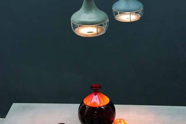 featured posts image for Industrial chic concrete and glass light fixtures: IdéeAl Lamps