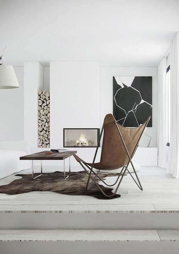 Minimalist Fireplace Ideas-01-1 Kindesign